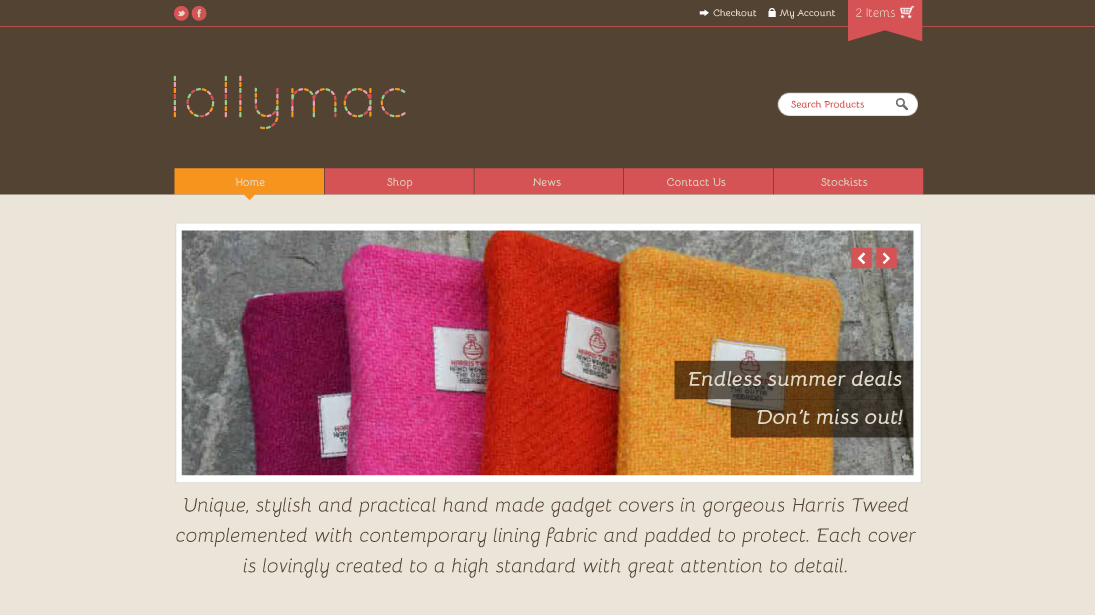 Lollymac Website.