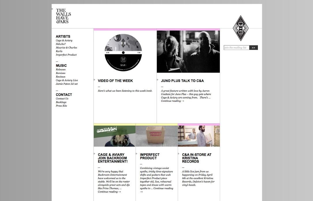 walls website