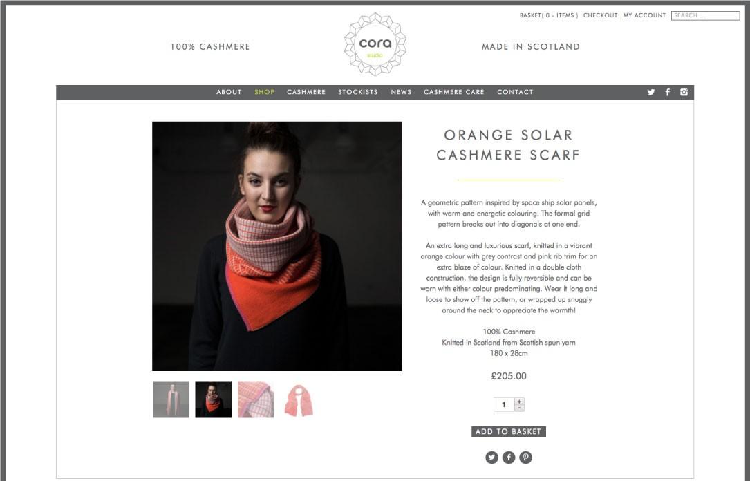 Cora Website