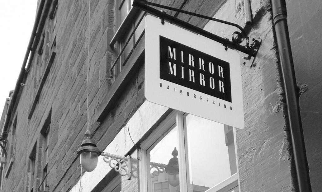 Mirror Mirror Signage